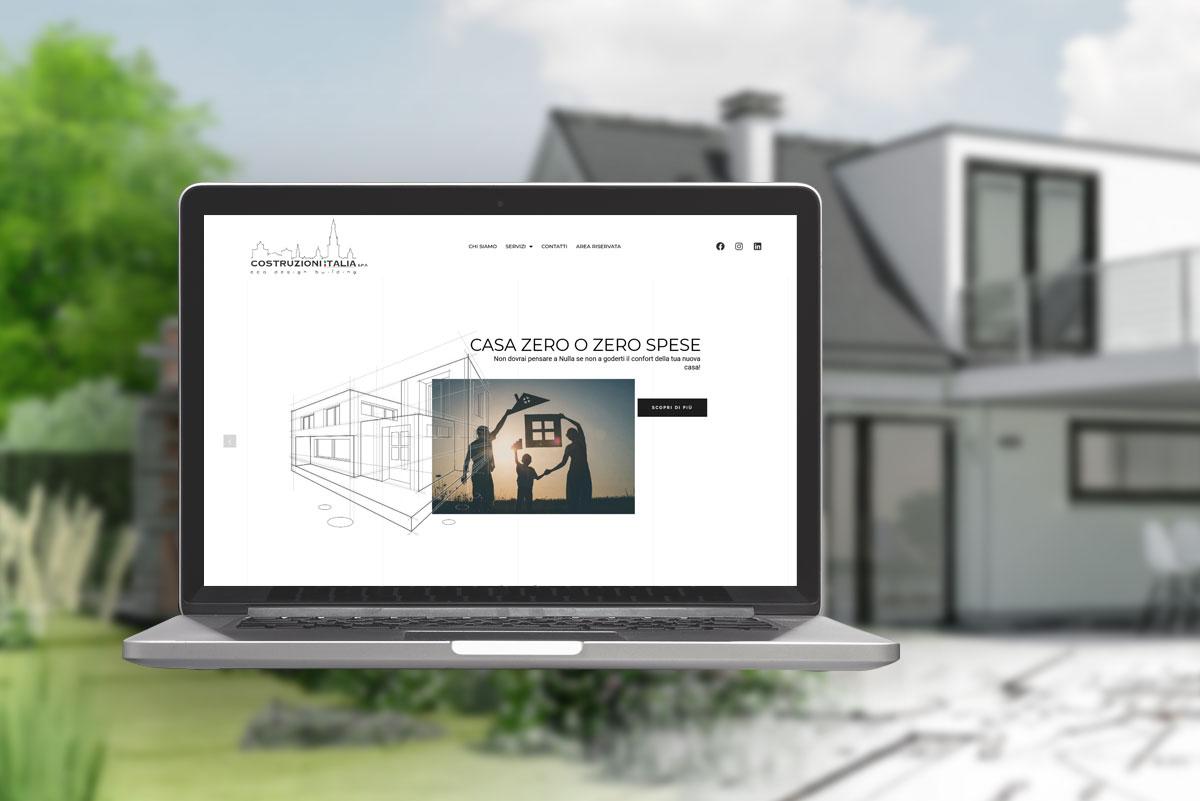 Costruzioni Italia - Progetti - costruzione sito - brandig position - social marketing